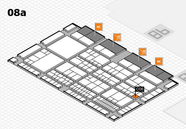interpack 2017 hall map (Hall 8a): stand C06
