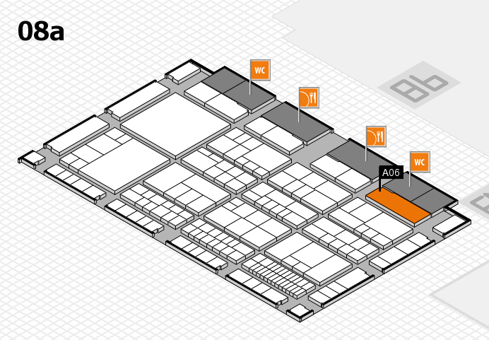 interpack 2017 hall map (Hall 8a): stand A06