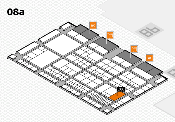 interpack 2017 hall map (Hall 8a): stand D06