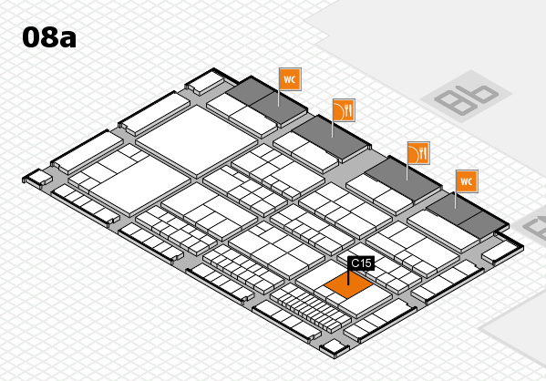 interpack 2017 hall map (Hall 8a): stand C15