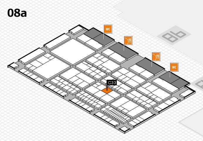 interpack 2017 Hallenplan (Halle 8a): Stand C33
