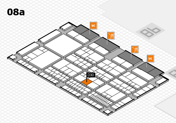 interpack 2017 hall map (Hall 8a): stand D30