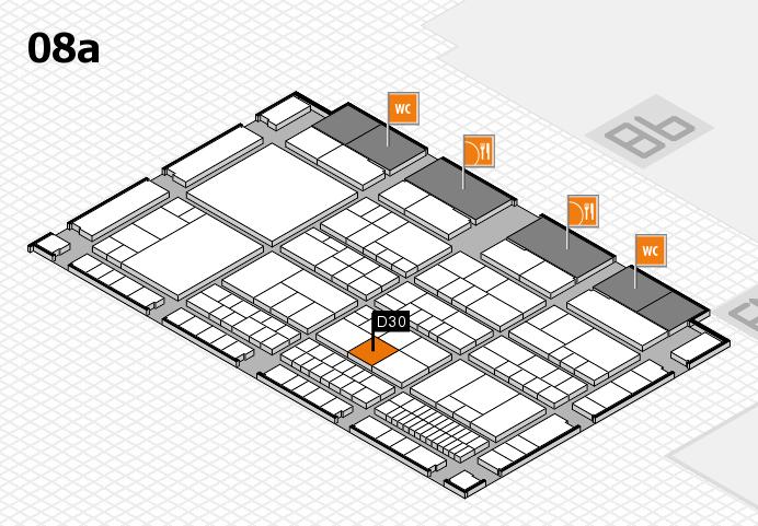 interpack 2017 Hallenplan (Halle 8a): Stand D30