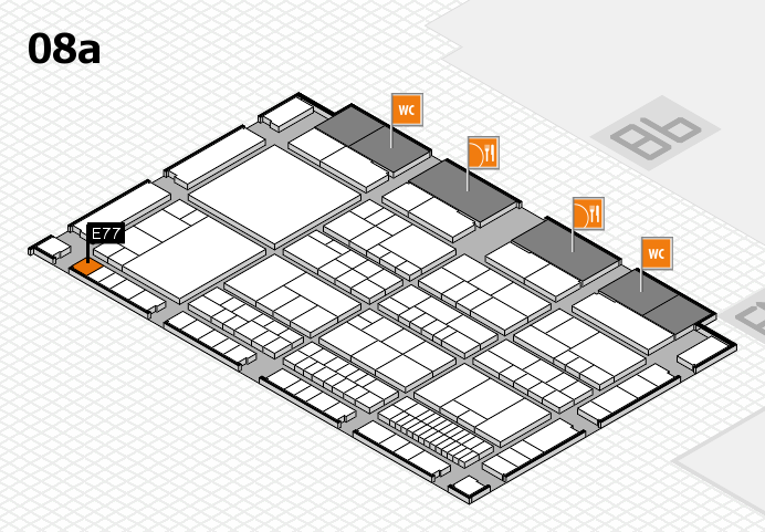 interpack 2017 hall map (Hall 8a): stand E77