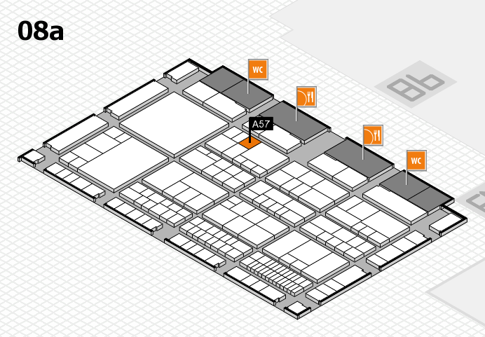 interpack 2017 hall map (Hall 8a): stand A57