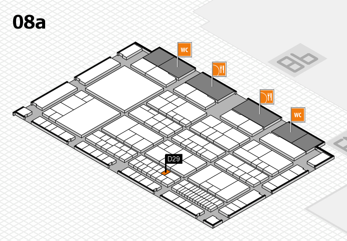 interpack 2017 hall map (Hall 8a): stand D29