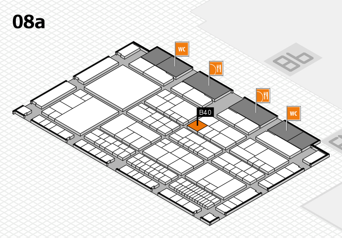 interpack 2017 hall map (Hall 8a): stand B40