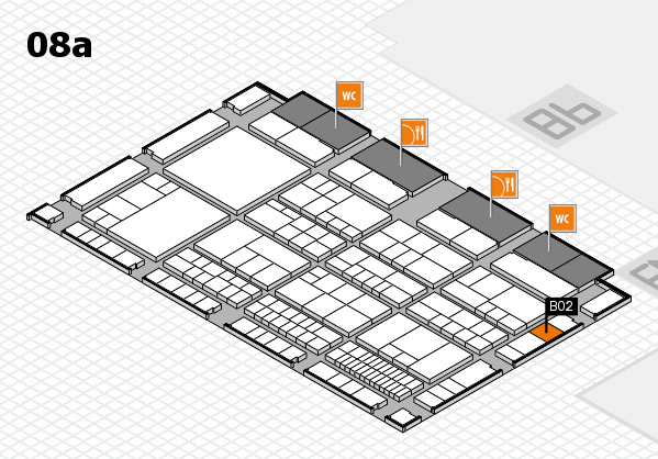 interpack 2017 hall map (Hall 8a): stand B02