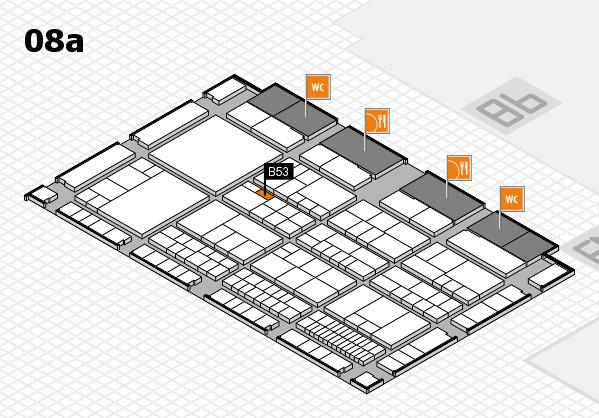 interpack 2017 Hallenplan (Halle 8a): Stand B53