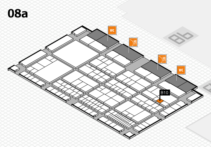 interpack 2017 hall map (Hall 8a): stand B10