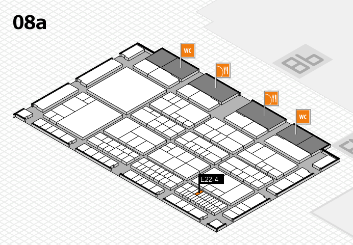 interpack 2017 hall map (Hall 8a): stand E22-4