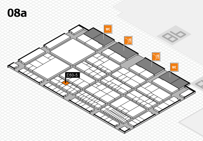 interpack 2017 hall map (Hall 8a): stand E60-5