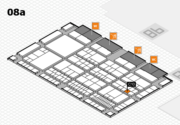 interpack 2017 hall map (Hall 8a): stand C10