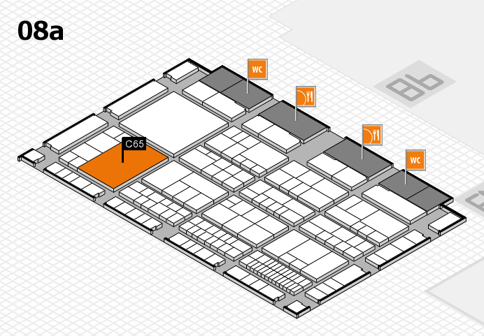interpack 2017 hall map (Hall 8a): stand C65