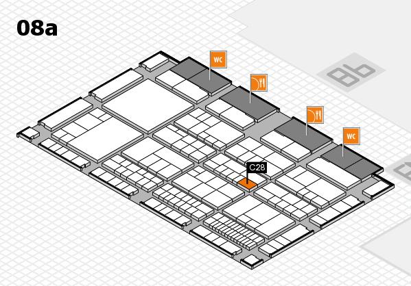 interpack 2017 Hallenplan (Halle 8a): Stand C28