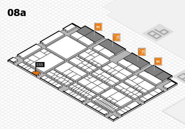 interpack 2017 hall map (Hall 8a): stand E65