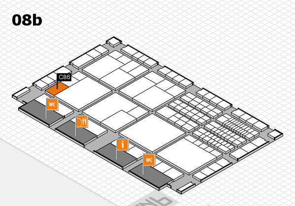 interpack 2017 hall map (Hall 8b): stand C86