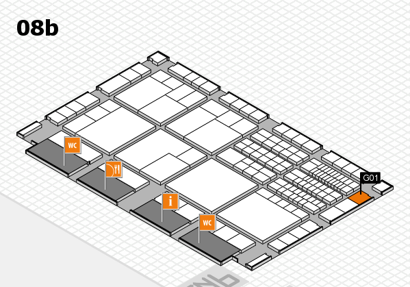 interpack 2017 hall map (Hall 8b): stand G01