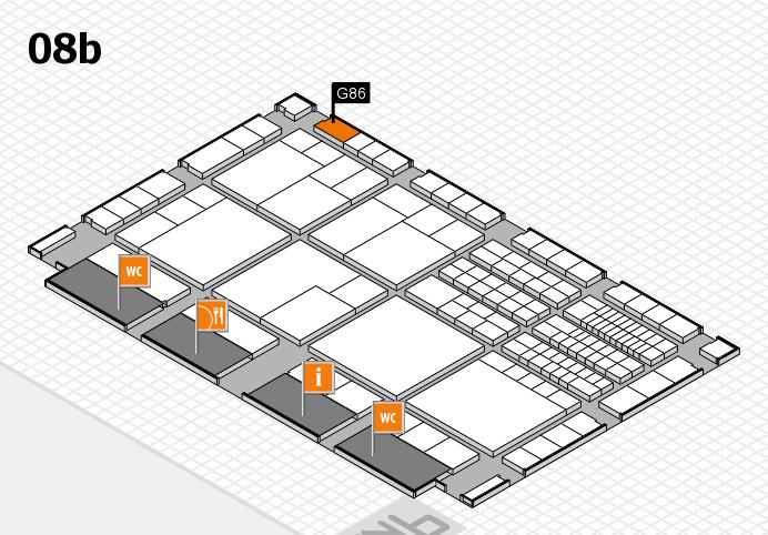 interpack 2017 Hallenplan (Halle 8b): Stand G86