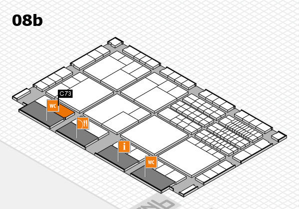 interpack 2017 hall map (Hall 8b): stand C73