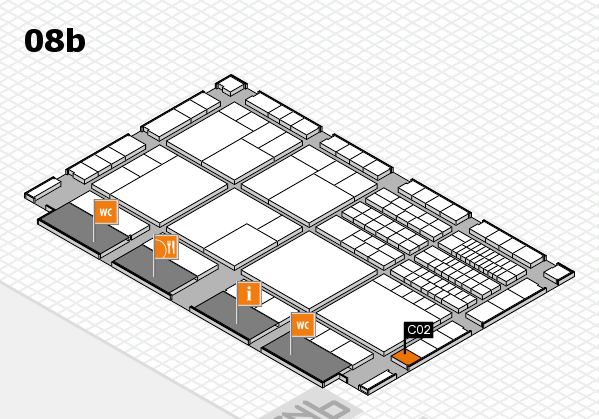 interpack 2017 hall map (Hall 8b): stand C02
