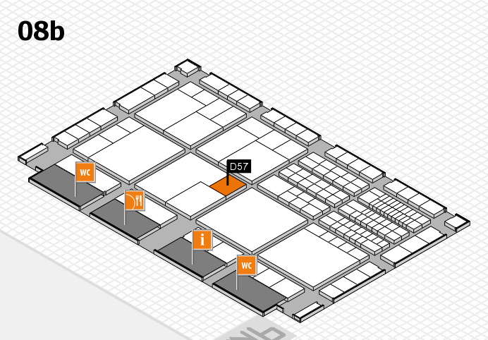 interpack 2017 hall map (Hall 8b): stand D57