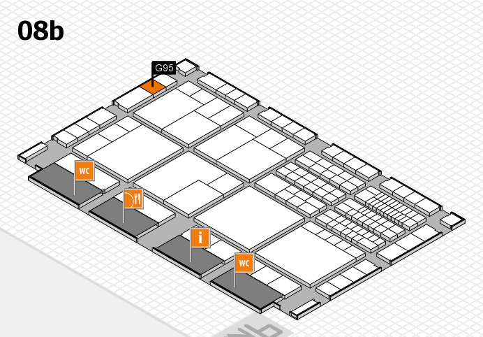 interpack 2017 hall map (Hall 8b): stand G95
