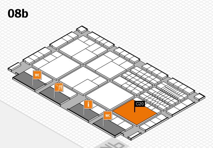 interpack 2017 Hallenplan (Halle 8b): Stand C20