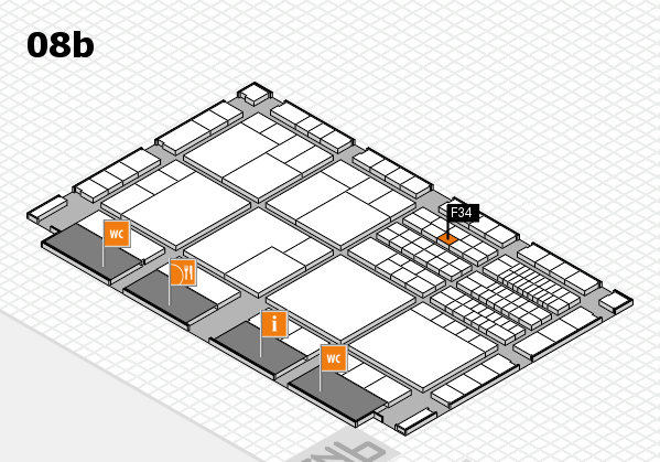 interpack 2017 hall map (Hall 8b): stand F34