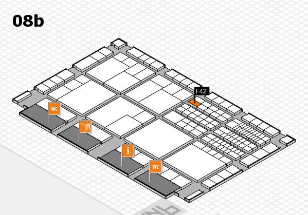 interpack 2017 Hallenplan (Halle 8b): Stand F42