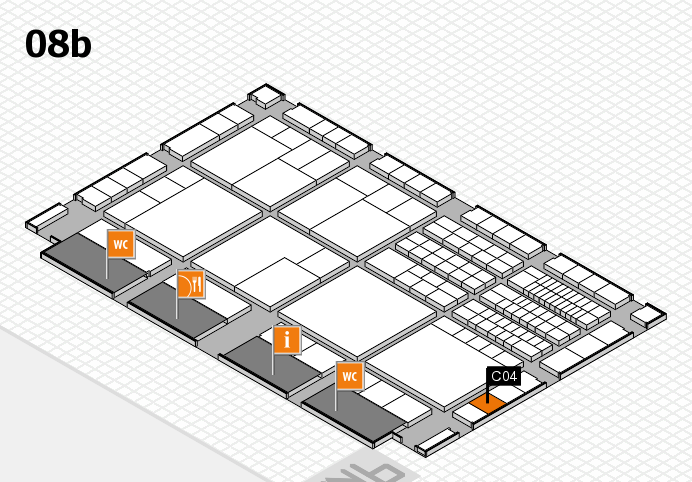 interpack 2017 hall map (Hall 8b): stand C04