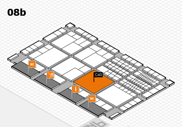 interpack 2017 hall map (Hall 8b): stand C40