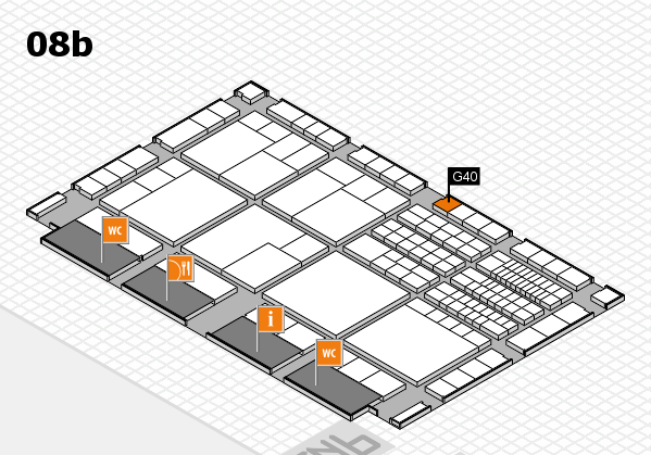 interpack 2017 hall map (Hall 8b): stand G40