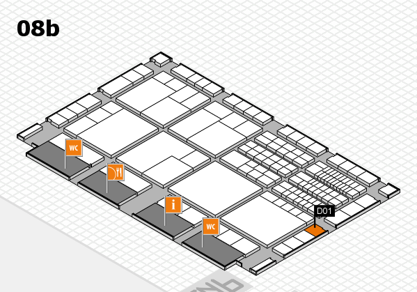interpack 2017 hall map (Hall 8b): stand D01