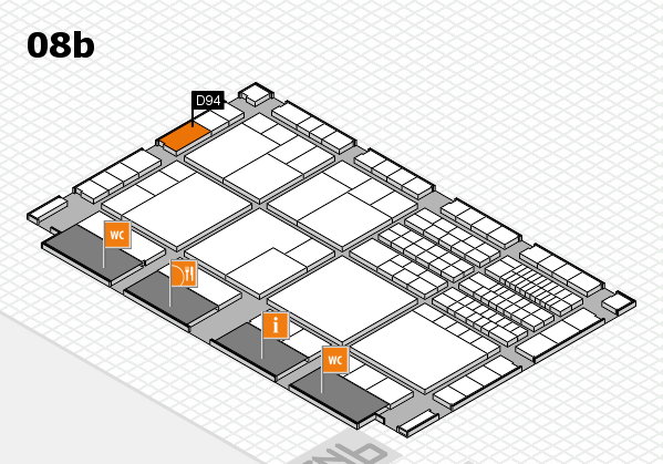 interpack 2017 hall map (Hall 8b): stand D94