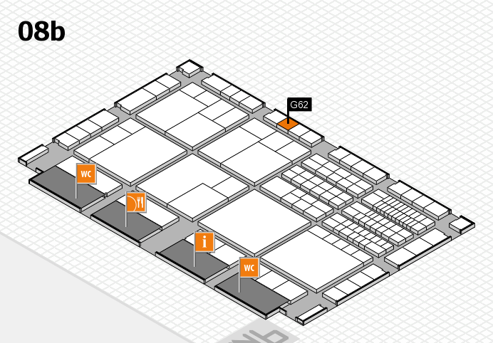 interpack 2017 hall map (Hall 8b): stand G62