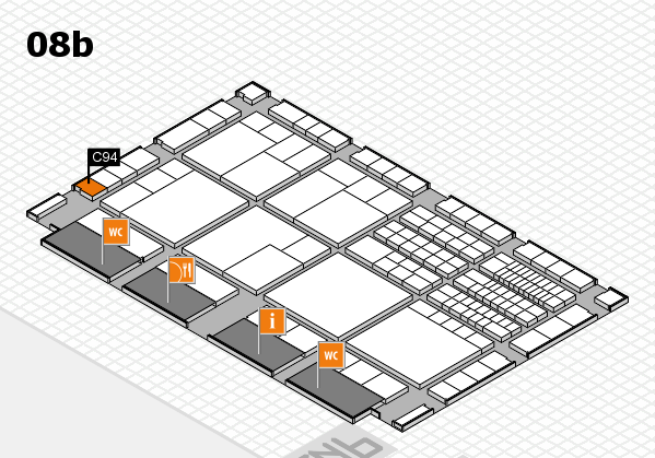 interpack 2017 hall map (Hall 8b): stand C94