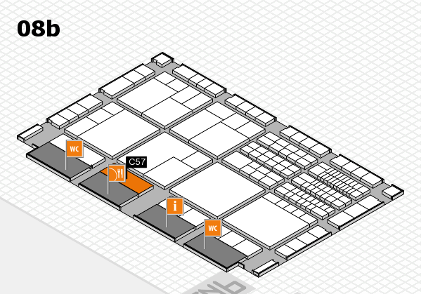 interpack 2017 hall map (Hall 8b): stand C57
