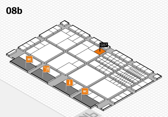 interpack 2017 Hallenplan (Halle 8b): Stand G57