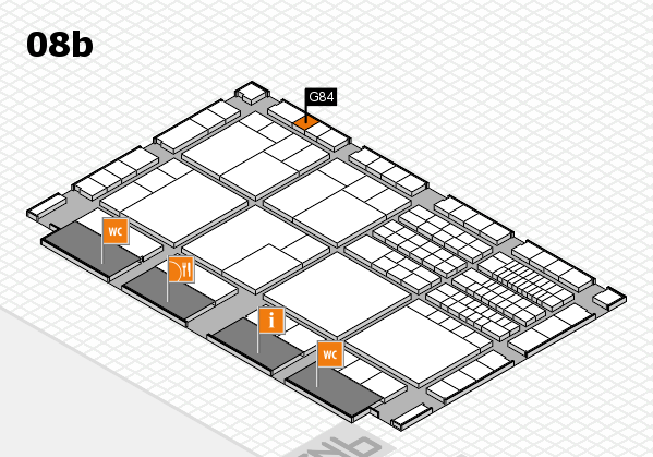 interpack 2017 hall map (Hall 8b): stand G84