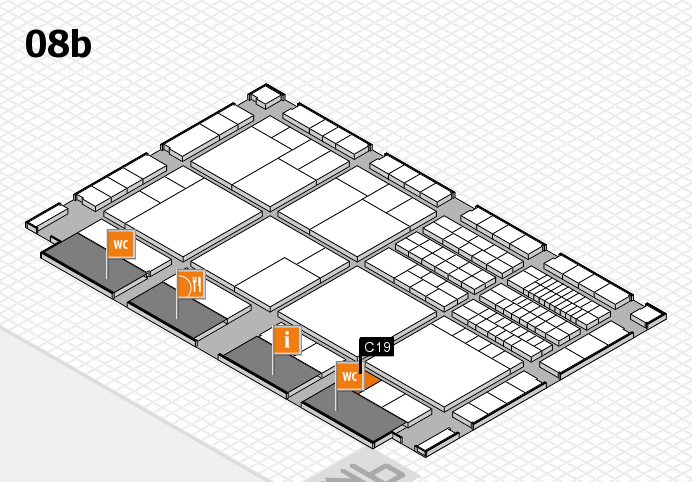 interpack 2017 hall map (Hall 8b): stand C19