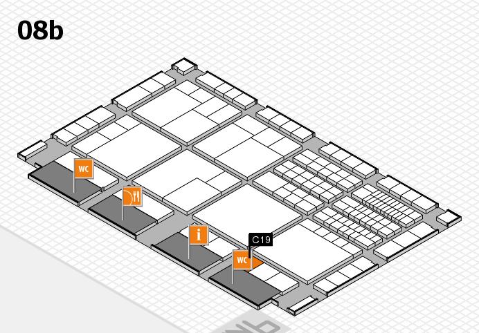 interpack 2017 Hallenplan (Halle 8b): Stand C19
