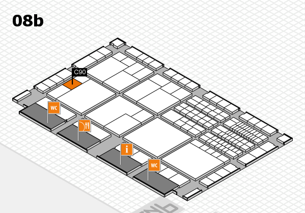 interpack 2017 hall map (Hall 8b): stand C90