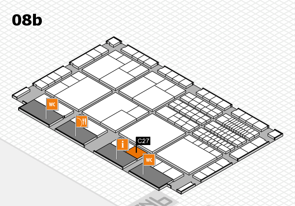 interpack 2017 hall map (Hall 8b): stand C27