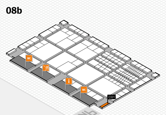 interpack 2017 hall map (Hall 8b): stand C01