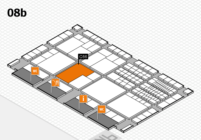 interpack 2017 hall map (Hall 8b): stand C66