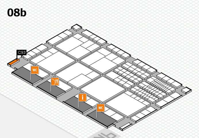 interpack 2017 hall map (Hall 8b): stand C93