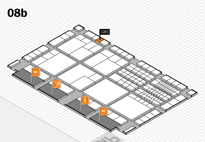 interpack 2017 hall map (Hall 8b): stand G80