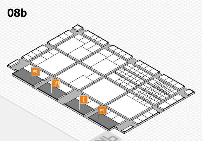 interpack 2017 hall map (Hall 8b): stand G83