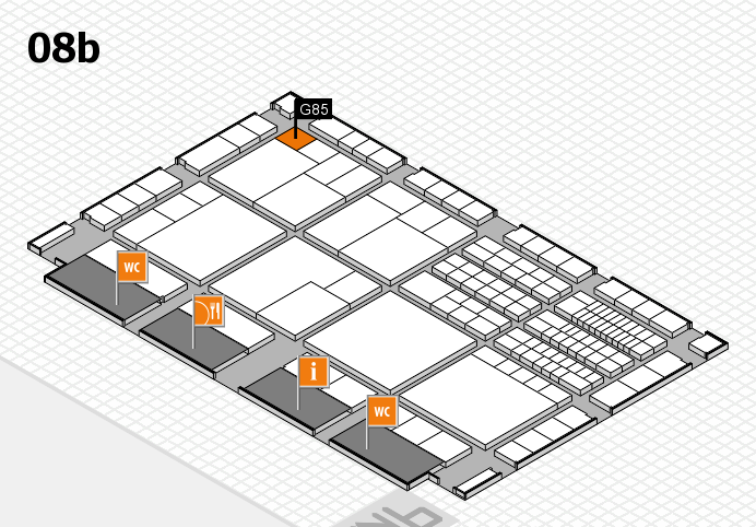 interpack 2017 hall map (Hall 8b): stand G85